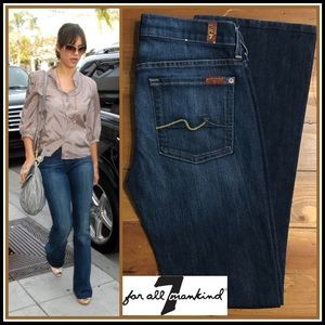 ☮️Pristine 7 For All Mankind Bootcut Jeans